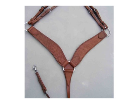 Handcrafted western breastplate